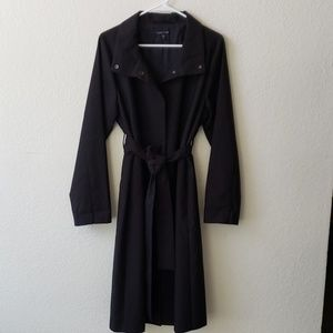 Eileen Fisher Black coat. like new.